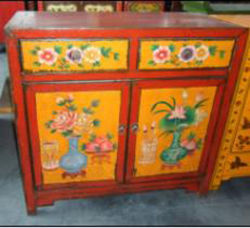 Chinese Antique Furniture Tibetan Cabinet