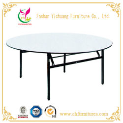 3b4195e41aed Yc-T01 Folding Round Rental Wedding Banquet and Hotel Table for Event and  Restaurant Dining