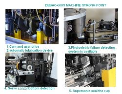 Automatical Cup Machine with Inspection System