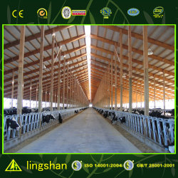 Prefabricated Steel Structure Cattle House Design Cow Shed