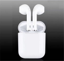 Bluetooth Headphone True Stereo Headphone Sport Headphone Noise Cancelling Headphone Tws I7s with Charging Box
