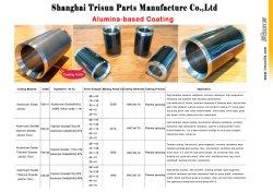 Shaft Sleeve for Slurry Pump, Chromium Oxide Coating