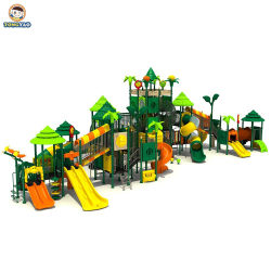 Tongyao Factory Colorful Plastic Commercial Outdoor Slide Playground