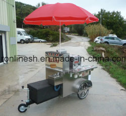 Kiosk Trailer/Charriot Hotdog/Hotdog Cart/Street Food Cart/Catering Trailer/Snack Trailer/Mobile Foodcart /Food Stall/Hamburger Cart CE