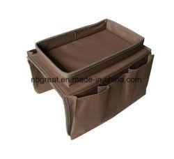 6 Pockets Sofa Armrest Organizer Tidy Caddy Organizer Storage Case