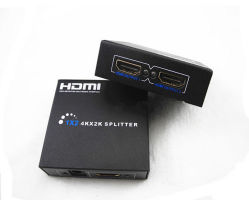 HDMI Splitter 1X2 up to 4k*2k High Resolution