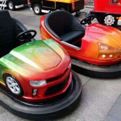 Original Manufacturer Amusement Park Fiberglass Body Battery Powered Adult Bumper Car Game Machine