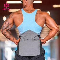 OEM Gym Fitness Tank Top Wholesale Mens Active Athletic Sports Wear