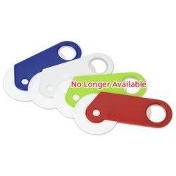 Promotional Plastic Magnetic Clip Magnetic Bottle Opener with Custom Logo
