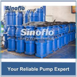 Submersible Axial/Mixed Flow Mine Drainage Floating Pump