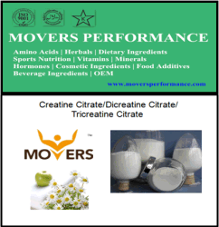 Creatine Citrate/Dicreatine Citrate/Tricreatine Citrate with High Quality