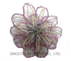 Fashion Decorative Rhinestone String Beads Flower Dresses Clothing DIY Accessories