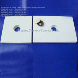 Wear Resistant Alumina Ceramic Lining Tiles as Abrasion Resistant Materials