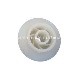 Casting Mould Polyurethane Impeller / Wear Resistant NR Rubber Water Pump Impeller