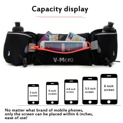 Top Sale Sports Hydration Waist Bag for iPhone