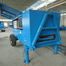 Concrete Delivery Pump in Clc Plant