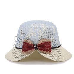 Hot Sale Custom Wholesale Paper Fedora Children Hat Straw Hat Beach