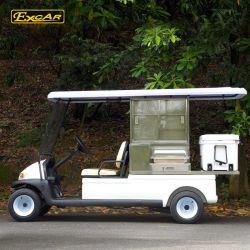 Hot Sale Van Food Cart Electric Food Car with Ice Box