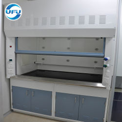 Full Steel Chemical Exhaust Bench Mounted Fume Cupboard Price
