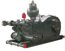 F-1000 Plunger Pump with Motor Concrete Slurry Pump