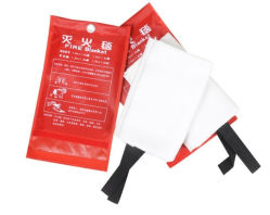 1.0 *1.0 Meter Fire Extinguisher Blanket with Fire Proofing Material