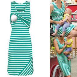 2aa40060b8204 Maternity Clothing for Pregnant Women Breastfeeding Dress Fashion Nice Nursing  Clothes (18111)