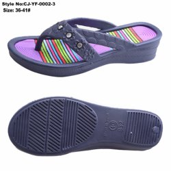b63201779 Wholesale Colorful EVA Lady Slippers Flip Flops