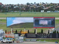 Outdoor Full Color P16 Football LED Display for Digital Billboard