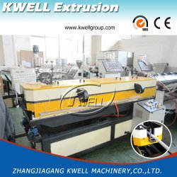 Factory Sale PVC/PP/PE/EVA Single Wall Corrugated Pipe Extrusion Making Machine
