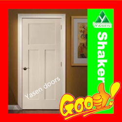 Wood Door Veneer Door Solid Wood Door White Primed MDF Door
