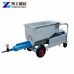 Small Inject Grouting Concrete Slurry Screw Pump Price