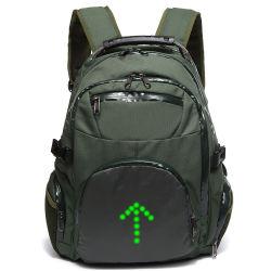 China Factory LED Lighg Ride Backpack Outdoor Sport Motorcycle LED Warning Light Backpack Bag (RS-7007)