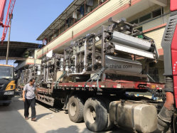 Sludge Dewatering Machine/Carbon Steel Material with High Output Capacity