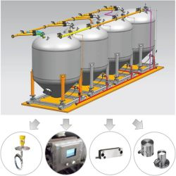 Yichang Wtau Cement Tank Offloading Control System
