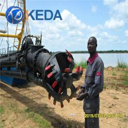 River Mud Sucking Pipeline Sand Ship Dreger Mining Machine