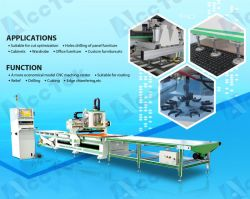 Auto-Feeding Wooden Door Furniture Production Line Sculpture Machine 1325 CNC Wood Carving Router