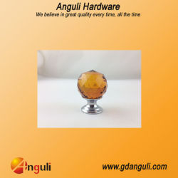 Furniture Decoration Hardware Glass Cabinet Drawer Crystal Pull Knobs