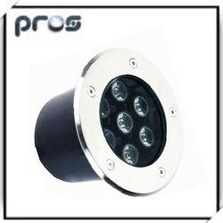 3W 7W 9W 12W 15W 18W 21W LED Solar Ground for Fountain Walk by Lights