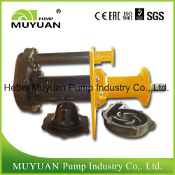 Waste Water Handling Submerged Vertical Centrifugal Mining Slurry Pump