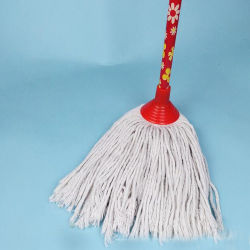 Wholesale Household Wet Floor Plastic Cleaning Cotton String Mop