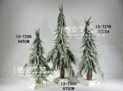 Green Artificial Christmas Tree PE Plant