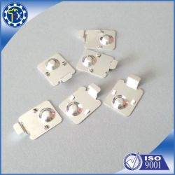 Custom Stamping Parts 18650 Battery Contact Clip, Sheet Metal Clip, Battery Holder Clip