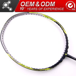 Customized Sport Goods Badminton Rackets Carbon Fiber Products