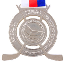 Custom Metal Premier League Sport Miraculous Military Medal with Lanyard