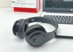 High-End Wireless Headphone Metal Sports Bluetooth Headset
