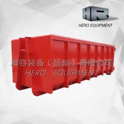 20m Customized Standard Bathtub Style Hook Lift Bin Roro Containers