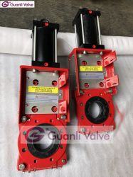 Kgd Slurry Knife Gate Valve with SS304 Gate Cover
