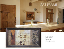 Eco-Friendly Framed Art with Gel Coat