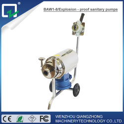 Sanitary Movable Pump Stainless Steel Centrifugal Pump Milk Drink Pump