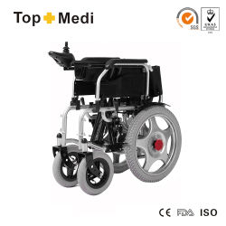 Health Medical Equipment Hot Sale Disabled Handicapped Folding Electric Power Wheelchair Prices